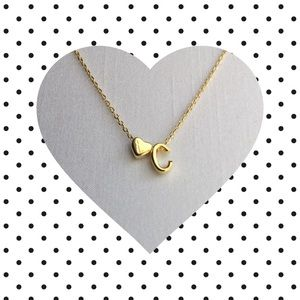 Jewelry - Letter C Initial Necklace